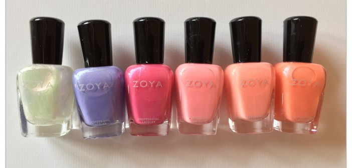 Zoya Petals Collection Spring 2016