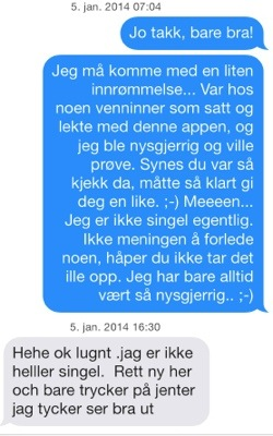 chatte på tinder Ulsteinvik