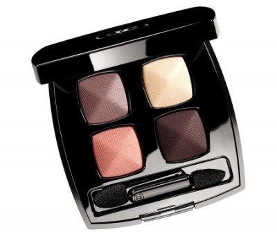 Chanel Lumière Facettes eye shadow quad in Quadrille