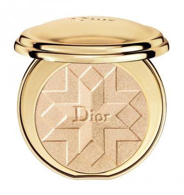 "Dior ""Golden Shock"" Holiday 2014: Diorific Illuminating Pressed Powder in Gold Shock #001"