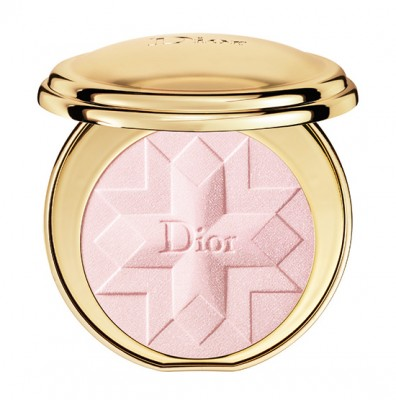 "Dior ""Golden Shock"" Holiday 2014: Diorific Illuminating Pressed Powder in Pink Shock #002"
