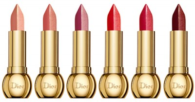"Dior ""Golden Shock"" Holiday 2014: Diorific Golden Shock Colour Lip Duo Matte & Metallic"