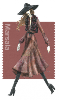 Pantone Fall 2015 5 Marsala