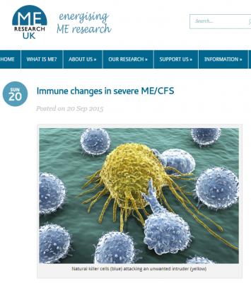 Immunendringer hos alvorlig ME-syke