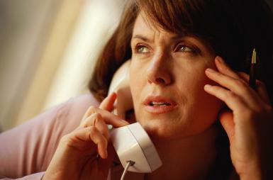 Vanskelige telefonsamtaler. Anne Rippy/Getty Images