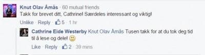 Facebook Knut Olav Åmås