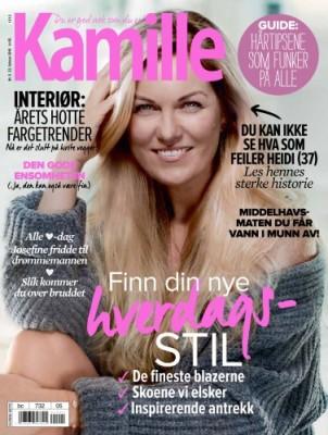 Kamille nr. 5, 22. februar 2016 Med flotte Heidi på coveret! <3